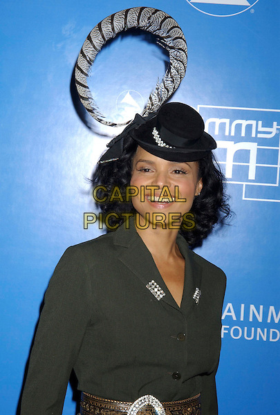 VICTORIA ROWELL.During the 2004 Grammy Jam Event Celebrating the Music of Earth, Wind & Fire held at the Wiltern LG Theatre, Los Angeles, California, USA, .11th December 2004..portrait headshot small hat.**UK SALES ONLY**.Ref: ADM.www.capitalpictures.com.sales@capitalpictures.com.©Capital Pictures.