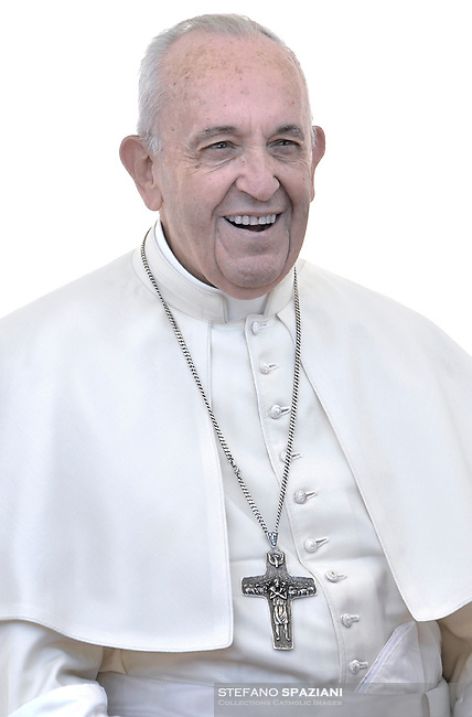 Pope Francis during of a weekly general audience at St Peter's square in Vatican.June 27, 2018