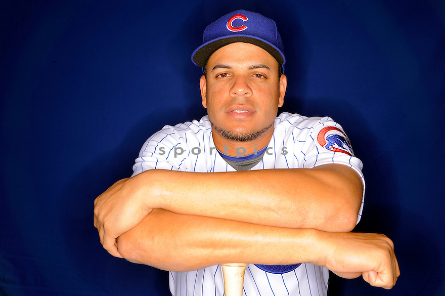 ARAMIS RAMIREZ, of the Chicago Cubs, during spring training photo day on February 23, 2009 in Mesa, Arizona.