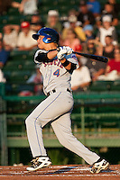 Short Stop Wilmer Flores of the St. Lucie Mets during the game against the Daytona Beach Cubs at Jackie Robinson Ballpark on May 25, 2011 in Daytona Beach, Florida. Photo by Scott Jontes / Four Seam Images