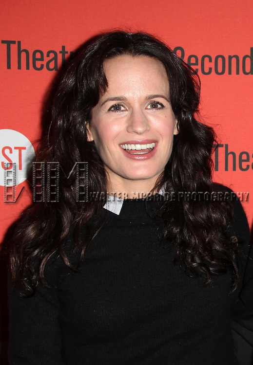 Elizabeth Reaser.attending the Off-Broadway Opening Night After Party for  Second Stage Theatre's 'How I Learned To Drive' at HB Burger in New York City, 2/13/2012.
