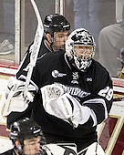 ?, Justin Gates (PC - 29) - The Boston College Eagles defeated the Providence College Friars 7-0 on Saturday, February 25, 2012, at Kelley Rink at Conte Forum in Chestnut Hill, Massachusetts.
