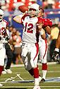 Josh McCown during the NY Giants v. Arizona Cardinals game on September 11, 2005. Giants win 42-19..Kevin Tanaka / SportPics