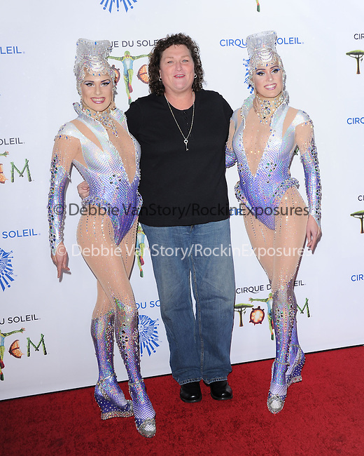 Dot-Marie Jones attends Totem from Cirque du Soleil Premiere at Santa Monica Pier in Santa Monica, California on January 21,2014                                                                               © 2014 Hollywood Press Agency