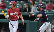 Ole Miss at Arkansas baseball (Game 1) 4/28/2017