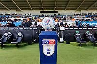 The official match ball prior to the Sky Bet Championship match between Swansea City and Cardiff City at the Liberty Stadium, Swansea, Wales, UK. Sunday 27 October 2019