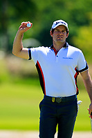Ricardo Gouveia (POR) in action during the first round of the Afrasia Bank Mauritius Open played at Heritage Golf Club, Domaine Bel Ombre, Mauritius. 30/11/2017.<br /> Picture: Golffile | Phil Inglis<br /> <br /> <br /> All photo usage must carry mandatory copyright credit (&copy; Golffile | Phil Inglis)