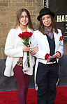 "Petan Napolitano and Ani DeFranco attends the Broadway Opening Night Performance of ""Hadestown"" at the Walter Kerr Theatre on April 17, 2019  in New York City."