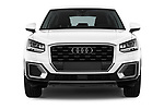 Car photography straight front view of a 2017 Audi Q2 Sport 5 Door SUV