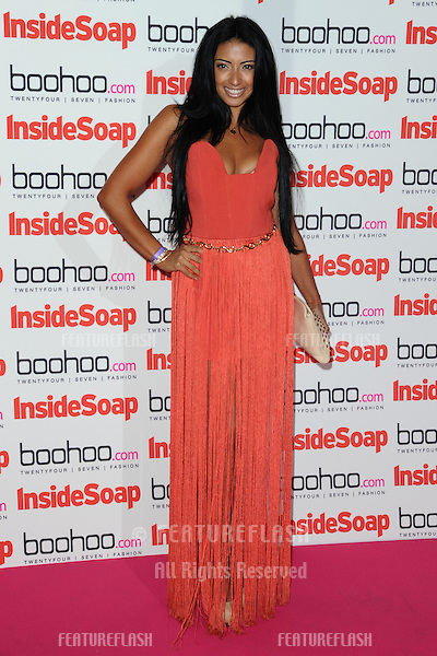 Karen Hauer  arriving for the 2012 Inside Soap Awards, at No.1 Marylebone, London. 24/09/2012 Picture by: Steve Vas / Featureflash