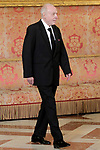 Spanish pinter Juan Navarro Baldeweg during the reception of King Felipe VI of Spain at the Royal Palace in honor of the President of the French Republic Emmanuel Macron. July 26,2018. (ALTERPHOTOS/Acero)