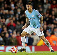 Manchester City's Danilo<br /> <br /> Photographer Rich Linley/CameraSport<br /> <br /> UEFA Champions League Round of 16 Second Leg - Manchester City v FC Schalke 04 - Tuesday 12th March 2019 - The Etihad - Manchester<br />  <br /> World Copyright &copy; 2018 CameraSport. All rights reserved. 43 Linden Ave. Countesthorpe. Leicester. England. LE8 5PG - Tel: +44 (0) 116 277 4147 - admin@camerasport.com - www.camerasport.com