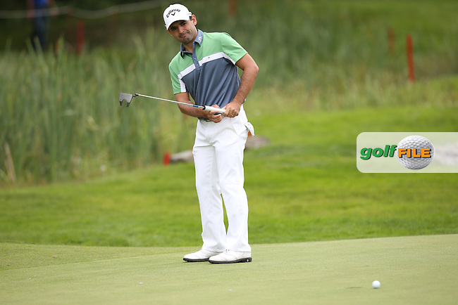 Fabrizio Zanotti (PAR) missing birdie on the 9th during Round One of the 2015 BMW International Open at Golfclub Munchen Eichenried, Eichenried, Munich, Germany. 25/06/2015. Picture David Lloyd | www.golffile.ie