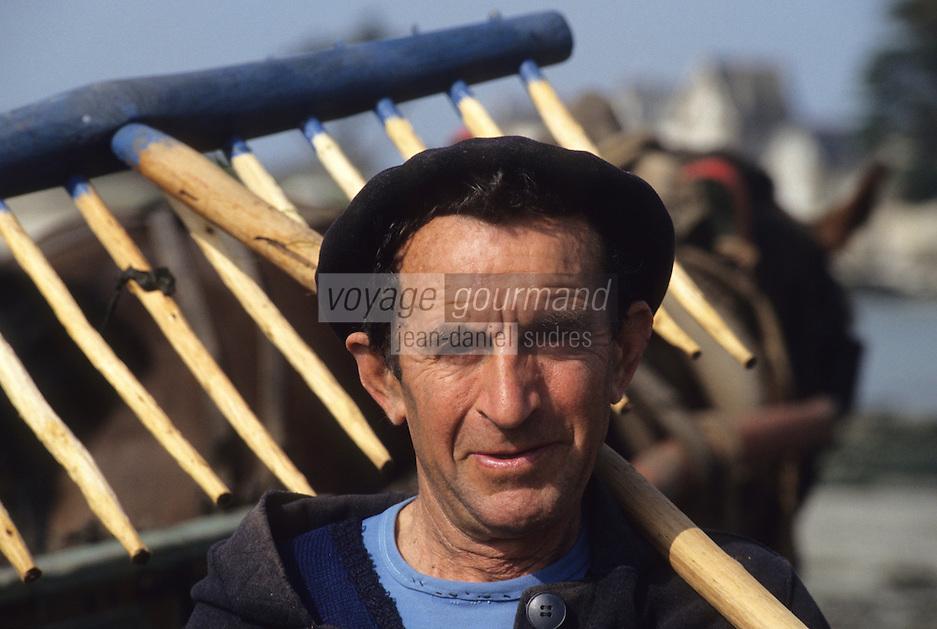 Europe/France/Bretagne/29/Finistère/Brigognan-Plage: Géomoniers [Non destiné à un usage publicitaire - Not intended for an advertising use]<br /> PHOTO D'ARCHIVES // ARCHIVAL IMAGES<br /> FRANCE 1980