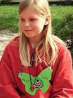 """Kindergeburtstag unter dem Motto """"Schmetterlinge"""", Geburtstagsfeier, Mottogeburtstag, Schmetterlingsfest. Jedes Kind bekommt einen Schmetterlingsnamen zugeordnet"""