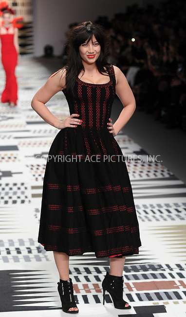 WWW.ACEPIXS.COM<br /> <br /> February 19 2015, London<br /> <br /> Daisy Lowe walks the runway at the Fashion For Relief charity fashion show to kick off London Fashion Week 2015 at Somerset House on February 19 29015 in London<br /> <br /> By Line: Famous/ACE Pictures<br /> <br /> <br /> ACE Pictures, Inc.<br /> tel: 646 769 0430<br /> Email: info@acepixs.com<br /> www.acepixs.com