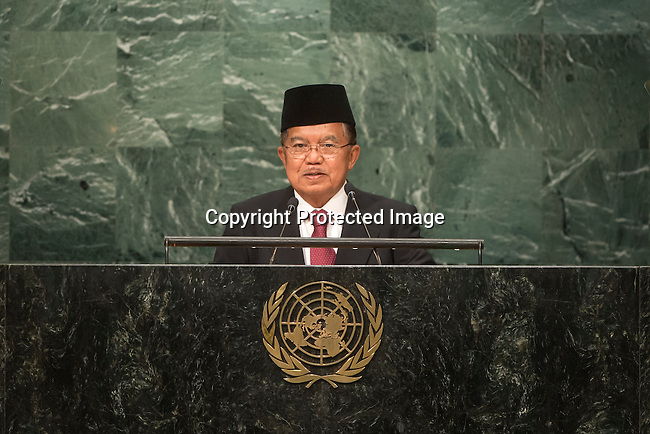 Indonesia<br /> H.E. Mr. Muhammad Jusuf Kalla<br /> Vice-President<br /> <br /> General Assembly Seventy-first session, 17th plenary meeting<br /> General Debate