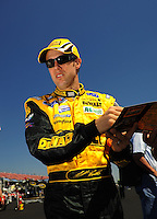 Apr 25, 2009; Talladega, AL, USA; NASCAR Sprint Cup Series driver Matt Kenseth during qualifying for the Aarons 499 at Talladega Superspeedway. Mandatory Credit: Mark J. Rebilas-