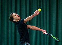 Wateringen, The Netherlands, December 4,  2019, De Rhijenhof , NOJK 14 and18 years, Boudewijn Willems (NED)<br /> Photo: www.tennisimages.com/Henk Koster