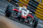 Kenta Yamashita races the Formula 3 Macau Grand Prix during the 61st Macau Grand Prix on November 15, 2014 at Macau street circuit in Macau, China. Photo by Aitor Alcalde / Power Sport Images