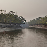 Sudhanya Khali, Unesco reserve in the Sundarban with more than 100 islands,home to the largest mangrove forest in the world, 9 December 2010...