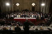 Washington, D.C. - September 12, 2005 -- Judge John G. Roberts, Jr. is sworn-in to testify before the United States Senate Committee on the Judiciary hearing on his nomination to be Chief Justice of the United States..Credit: Chuck Kennedy - Pool via CNP