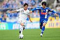 Koki Mizuno (Reysol), Kentaro Sato (Montedio),MAY 3, 2011 - Football :2011 J.League Division 1 match between Montedio Yamagata 2-1 Kashiwa Reysol at NDsoft Stadium Yamagata in Yamagata, Japan. (Photo by AFLO)