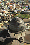 Israel, Jerusalem Old City, a view from the bell tower of the Church of the Redeemer