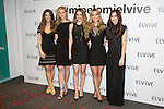 Models Juana Acosta, Judit Masco, Edurne Garcia and Vanesa Romero pose during promotional event in Madrid, Spain. February 11, 2016. (ALTERPHOTOS/Victor Blanco)