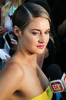NEW YORK CITY, NY, USA - JUNE 02: Shailene Woodley at the New York Premiere Of 'The Fault In Our Stars' held at Ziegfeld Theatre on June 2, 2014 in New York City, New York, United States. (Photo by Jeffery Duran/Celebrity Monitor)