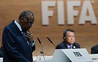 26-02-2016 Zurigo Football FIFA; Acting FIFA President Issa Hayatou speaks at the FIFA congress in Zurich<br /> (Steffen Schmidt/freshfocus/Insidefoto)