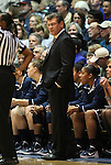 30 January 2012: UConn head coach Geno Auriemma. The Duke University Blue Devils played the University of Connecticut Huskies at Cameron Indoor Stadium in Durham, North Carolina in an NCAA Division I Women's basketball game.