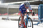 Roxane Fournier (FRA) FDJ Nouvelle Aquitaine-Futuroscope in action during the Madrid Challenge by La Vuelta was ridden over 87km, with 15 laps on a 5.8km route around the iconic Plaza Cibeles, Madrid, Spain. 10th September 2017.<br /> Picture: Unipublic/&copy;photogomezsport | Cyclefile<br /> <br /> <br /> All photos usage must carry mandatory copyright credit (&copy; Cyclefile | Unipublic/&copy;photogomezsport)