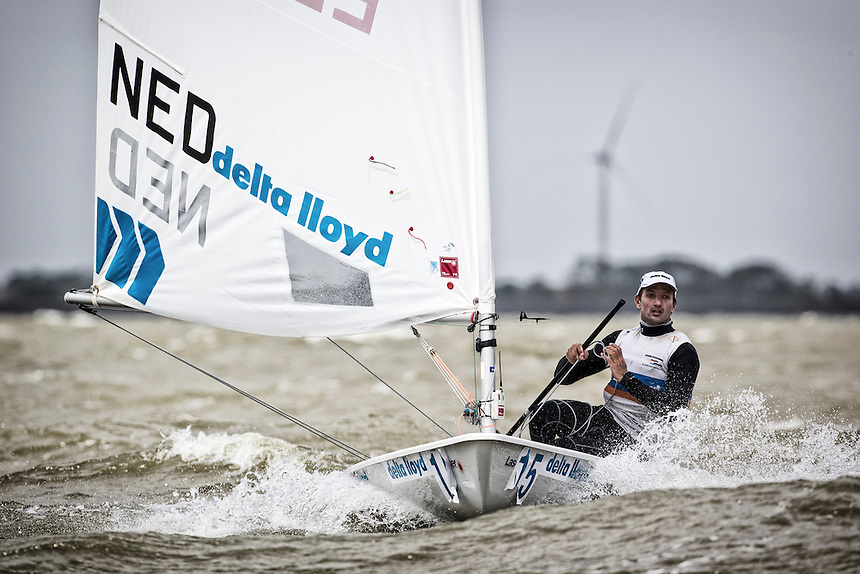 Day One Delta Lloyd Regatta  2016 (24/28 May 2016). Medemblik - the Netherlands.