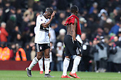 17th March 2019, Craven Cottage, London, England; EPL Premier League football, Fulham versus Liverpool; A dejected Floyd Ayite of Fulham after the 1-2 loss