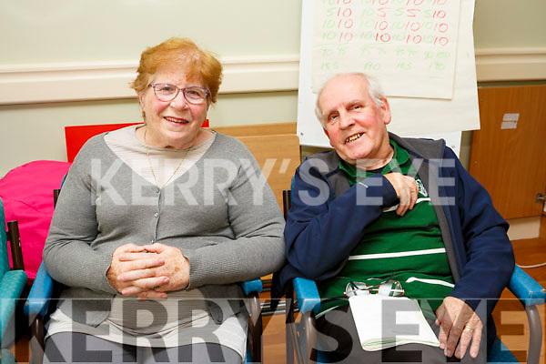 Enjoying the Castleisland Day Care Centre. Social event for the community on Sunday were Peggy Ann O'Sullivan and Dan O'Sullivan