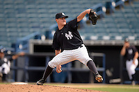 New York Yankees pitcher Nick Rumbelow (39) during an Instructional League game against the Toronto Blue Jays on September 24, 2014 at George M. Steinbrenner Field in Tampa, Florida.  (Mike Janes/Four Seam Images)