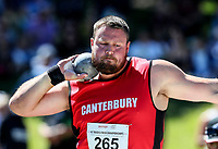 Tom Walsh, Shot Putt. NZ Athletic Championships, Porritt Stadium, Hamilton, Waikato, New Zealand,  Sunday 19 March 2017. Photo: Simon Watts/www.bwmedia.co.nz