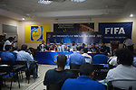 Press Conference and Intervies during the 2014 AFC President's Cup Final Stage Group B match on September 2014 at the Sugathadasa Stadium in Colombo, Sri Lanka. Photo by World Sport Group