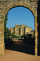 Culzean Castle and Culzean Castle Gardens at dawn which is part of the Ayrshire Coastal Path, Ayrshire<br /> <br /> Copyright www.scottishhorizons.co.uk/Keith Fergus 2011 All Rights Reserved