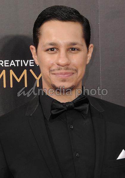 11 September 2016 - Los Angeles, California. David Delrio. 2016 Creative Arts Emmy Awards - Day 2 held at Microsoft Theater. Photo Credit: Birdie Thompson/AdMedia
