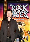 Bold and the Beautiful Constantine Maroulis stars in Rock of Ages on Broadway & invites Days John Aniston and CBS News Anchor Alexis Christopher and husband to see the musical (which opens Tuesday) on April 4, 2009 at the Brooks Atkinson Theatre, NYC. (Photo by Sue Coflin/Max Photos)