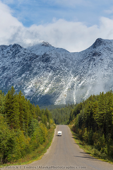 Northern most highway in British Columbia, Canada