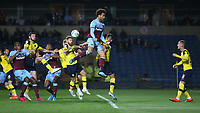 West Ham United's Felipe Anderson fails to connect with a cross<br /> <br /> Photographer Rob Newell/CameraSport<br /> <br /> The Carabao Cup Third Round - Oxford United v West Ham United - Wednesday 25th September 2019 - Kassam Stadium - Oxford<br />  <br /> World Copyright © 2019 CameraSport. All rights reserved. 43 Linden Ave. Countesthorpe. Leicester. England. LE8 5PG - Tel: +44 (0) 116 277 4147 - admin@camerasport.com - www.camerasport.com