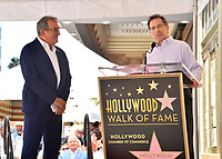 LOS ANGELES, CA. July 24, 2019: Kenny Ortega & Gary Marsh at the Hollywood Walk of Fame Star Ceremony honoring Kenny Ortega.<br /> Pictures: Paul Smith/Featureflash