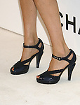 Ever Carradine 's shoes at Chanel's Launch of Highly Anticipated New Concept Boutique on Robertson Boulevard on May 29, 2008 in Los Angeles, California.