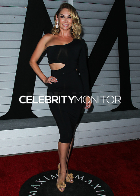 WEST HOLLYWOOD, CA, USA - JUNE 10: Kym Johnson at the MAXIM Hot 100 Party held at the Pacific Design Center on June 10, 2014 in West Hollywood, California, United States. (Photo by Xavier Collin/Celebrity Monitor)