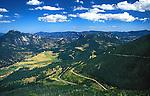 View on Hidden Valley, Rocky Mountains, Colorado