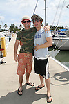 Nicholas Galbraith & Alex Cole - 11th Annual SoapFest - Actors take a break on the Ramblin' Rose with Ken as the captain on May 2, 2009 on Marco Island, FLA. (Photo by Sue Coflin/Max Photos)