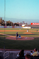 "Ballparks: San Bernardino ""The Ranch"". From behind home plate."